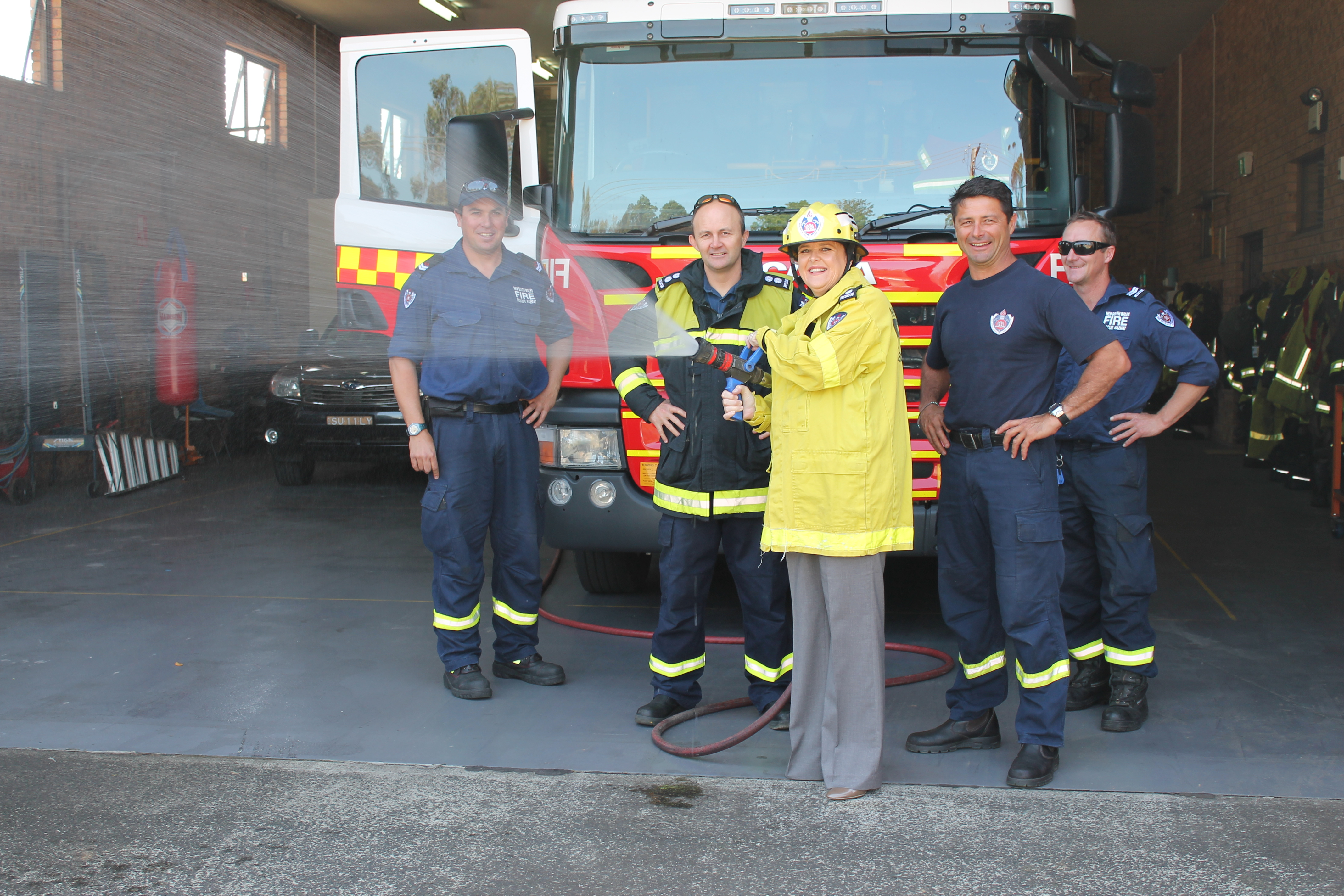 visit to dapto fire station011