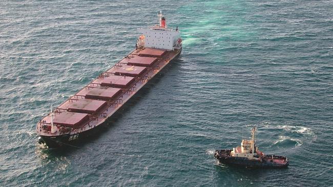 coal ship fire